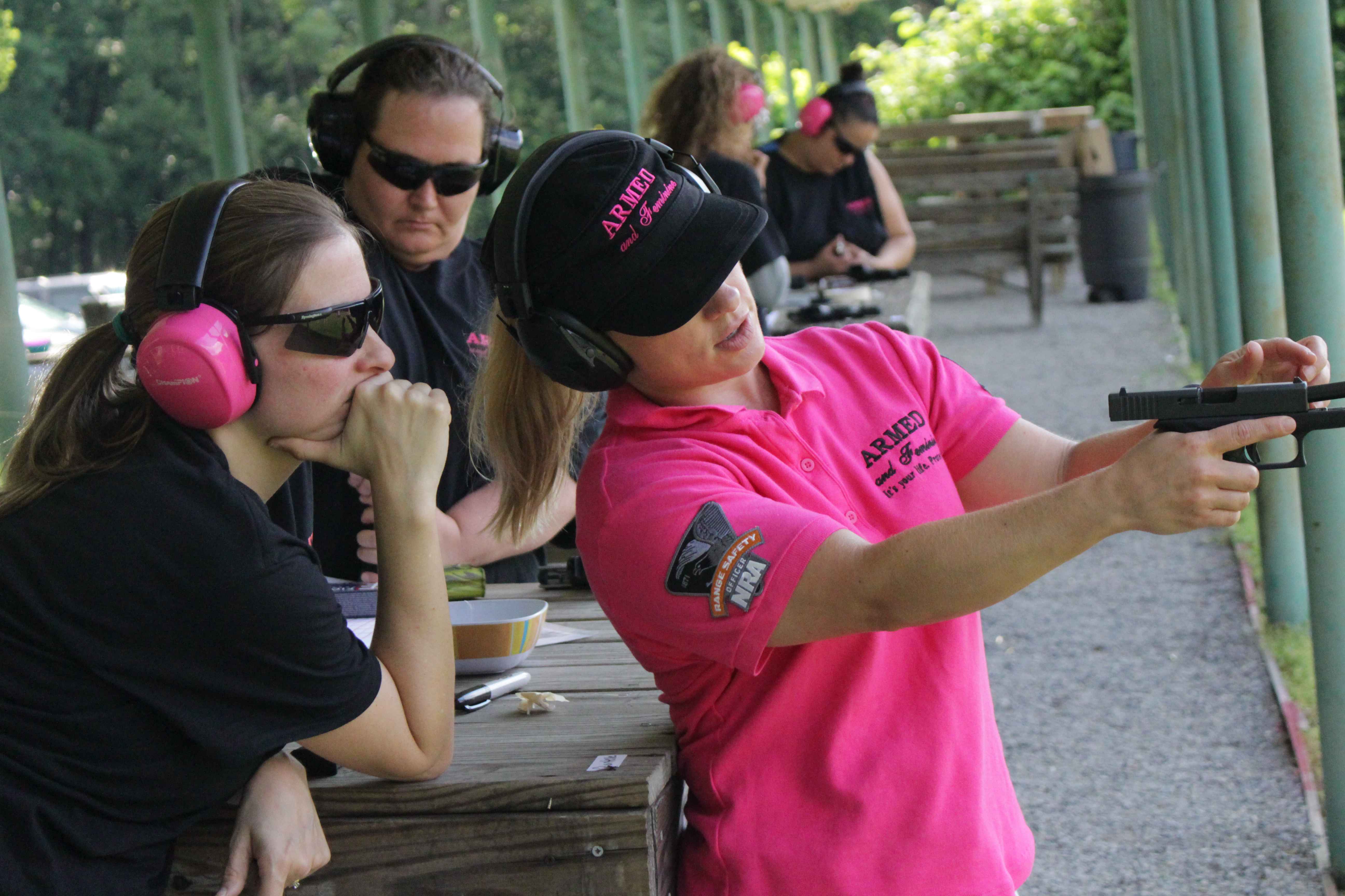 Class Descriptions | Armed and Feminine